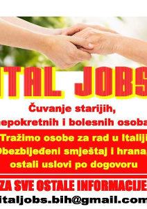Posao - Cuvanje starije osobe u Italiji