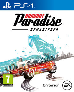 BURNOUT PARADISE REMASTERED PS4. DIGITALNA IGRA