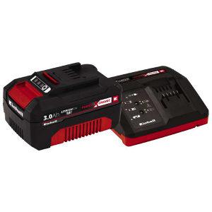 Einhell set brzi punjač PXC i baterija 18V/3Ah/60min