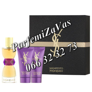 Yves Saint Laurent Manifesto 50ml EDP + 50 BL + 50 SG