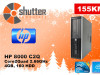 HP8000 Core2Quad 2.66GHz SFF