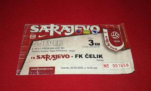 Ulaznica Sarajevo - Čelik