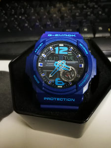 CASIO G SHOCK PLAVI