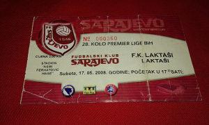 Ulaznica Sarajevo - Laktasi