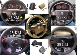 Navlaka za volan AUDI VW RENAULT MERCEDES PEUGEOT...