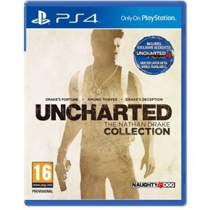 Uncharted: The Nathan Drake Collection PS4 - 3D BOX