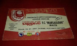 Ulaznica Sarajevo - FC Marsaxlokk
