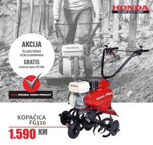 HONDA FG 320 motorna kopačica