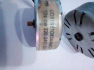 Step motor Necta Colibri