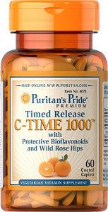 Puritans Pride Vitamin C 60 tab 1000 mg