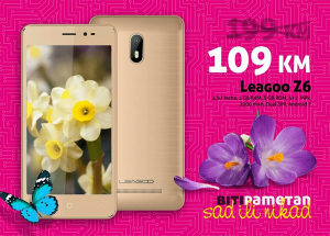 Leagoo Z6 - 4,97 incha | 1GB+8GB | 2+5mpx | Dual Sim