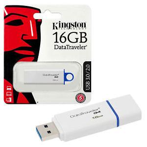 USB Stick Kingston 16GB - DTIG4 3,0