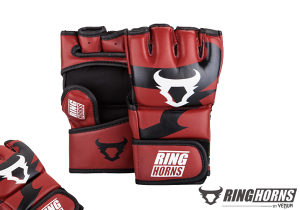 """Ringhorns - """"Charger"""" MMA Gloves - Red"""