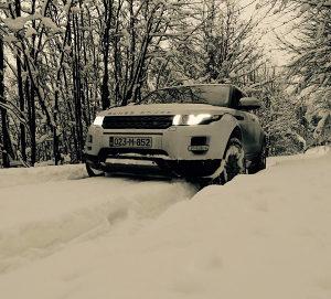 Range Rover Evoque SD4 - Prestige oprema -190 KS