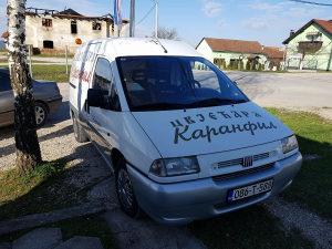 Pogrebno vozilo Fiat Scudo