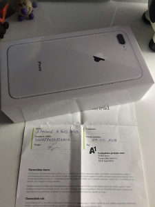iPhone 8 Plus NOVO - VAKUM - GARANCIJA / ZAMJENA