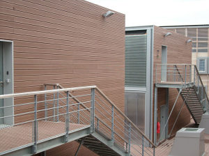 WPC fasada, fasadna obloga