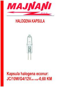 Halogena kapsula ECONUR