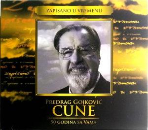3CD PREDRAG GOJKOVIC CUNE ZAPISANO U VREMENU 50 GODINA SA VAMA COMPILATION 2008