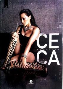 CD CECA AUTOGRAM ALBUM 2016 CITY RECORDS SRBIJA HRVATSKA RAZNATOVIC RAZNATOVIC