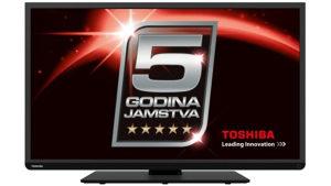 """Toshiba 49"""" 4K Smart LED TV 5 god garancija"""