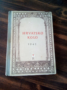Knjige, Hrvatsko Kolo (1945 g.)