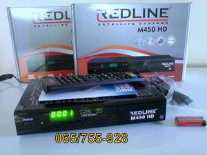 Satelitski HD risiver Redline M450HD