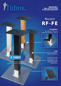 Postolje za sto - baza - Mod: RF-FE