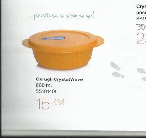 DO Tupperware zdjela za mikrovalnu