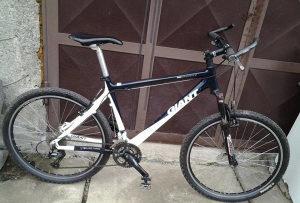 MTB biciklo GIANT carbon