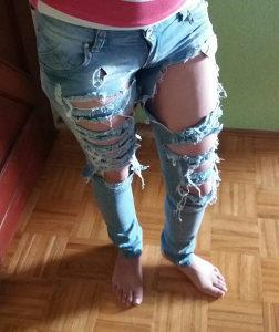 Zenske farmerke pantalone