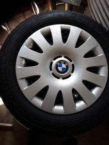 4x Auto Guma DUNLOP sa Felugama 195/65/15 Za BMW