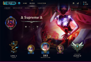 League of Legends - LOL - Account EUNE - Level 70