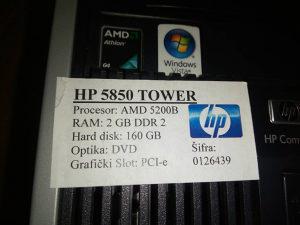 HP Centralna jedinica Hp