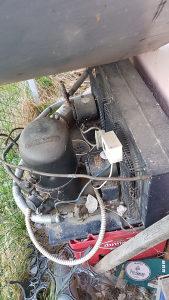 Motor kompresor za rashladnu vitrinu zidnu otvorenu