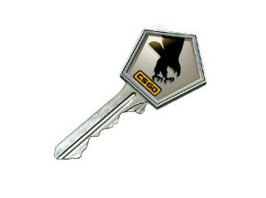 Clutch / CSGO Case Key - Ključ / STEAM