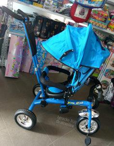 Tricikl guralica triciklo djecije biciklo PLAVO