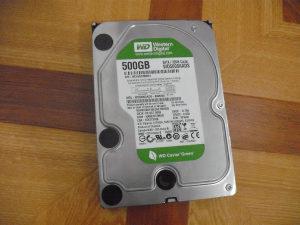 HDD Western Digital Green 500GB 32MB