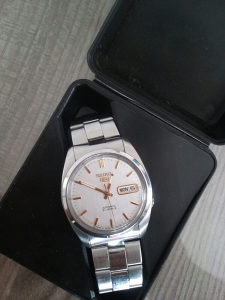 Seiko 5 automatic , 21 jewels, rucni sat