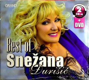 2CD i DVD SNEZANA DJURISIC BEST OF 2017 I KONCERT U SAVA CENTRU