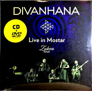 CD DVD DIVANHANA LIVE IN MOSTAR ZUKVA TOUR 2017