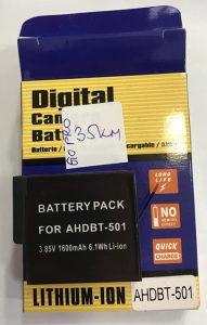Baterija za kameru GoPro Hero 5 Hero 6 AHDBT-501