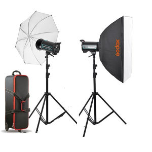 Godox QS-300 Kit 2 x 300Ws