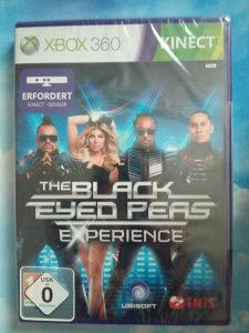 THE BLACK EYED PEAS EXPERIENCE XBOX 360