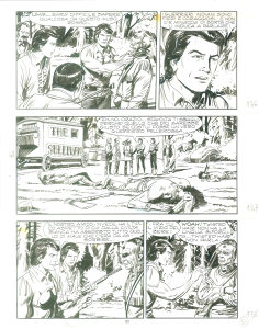 Zagor originalna tabla 3