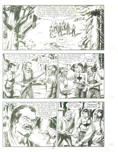 Zagor originalna tabla 6