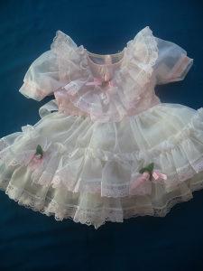 Svečana haljinica za djevojčice,vel.18 mjeseci
