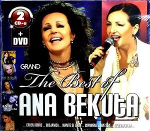 2CD+DVD ANA BEKUTA THE BEST OF KONCERT SAVA CENTAR 2011 (DVD)