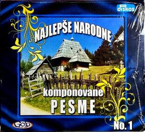 CD NAJLEPSE NARODNE KOMPONOVANE PESME NO.1