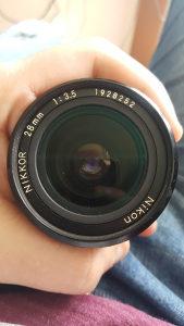 Objektiv 28mm f3.5
